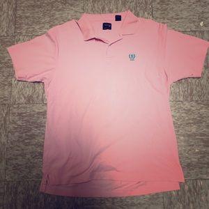 Izod Men's Pink Pique Polo L